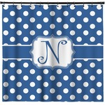 Polka Dots Shower Curtain (Personalized)