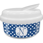 Polka Dots Snack Container (Personalized)