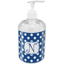 Polka Dots Soap / Lotion Dispenser (Personalized)