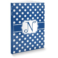 Polka Dots Softbound Notebook (Personalized)