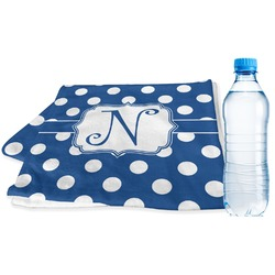 Polka Dots Sports Towel (Personalized)