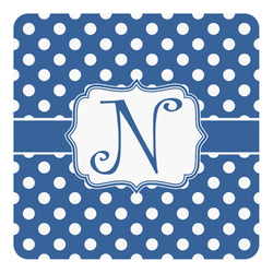 Polka Dots Square Decal (Personalized)