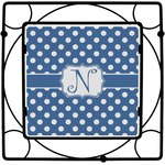 Polka Dots Square Trivet (Personalized)