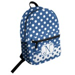 Polka Dots Student Backpack (Personalized)