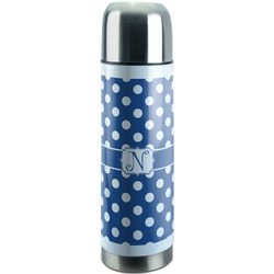 Polka Dots Stainless Steel Thermos (Personalized)