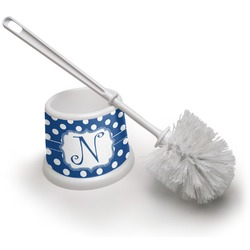 Polka Dots Toilet Brush (Personalized)