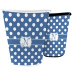 Polka Dots Waste Basket (Personalized)