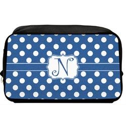 Polka Dots Toiletry Bag / Dopp Kit (Personalized)