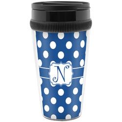 Polka Dots Travel Mugs (Personalized)