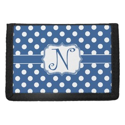 Polka Dots Trifold Wallet (Personalized)