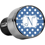 Polka Dots USB Car Charger (Personalized)