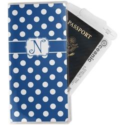 Polka Dots Travel Document Holder