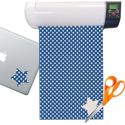Polka Dots Sticker Vinyl Sheet (Permanent)