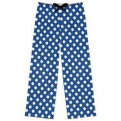Polka Dots Womens Pajama Pants (Personalized)