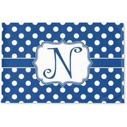 Polka Dots Woven Mat (Personalized)
