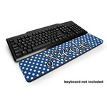 Polka Dots Keyboard Wrist Rest (Personalized)