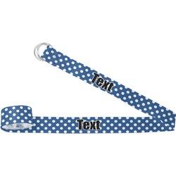 Polka Dots Yoga Strap (Personalized)