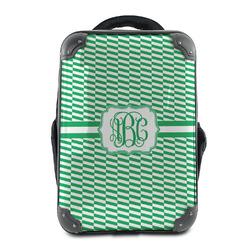 Zig Zag Hard Shell Backpack (Personalized)