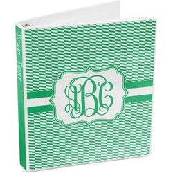 Zig Zag 3-Ring Binder (Personalized)