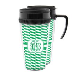 Zig Zag Acrylic Travel Mugs (Personalized)
