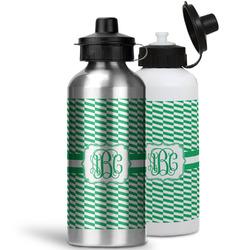 Zig Zag Water Bottles- Aluminum (Personalized)