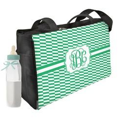 Zig Zag Diaper Bag (Personalized)
