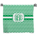Zig Zag Full Print Bath Towel (Personalized)