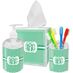 Zig Zag Bathroom Accessories Set (Personalized)
