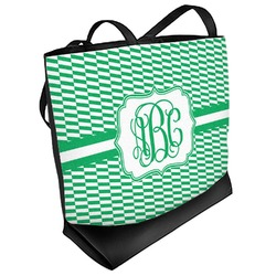 Zig Zag Beach Tote Bag (Personalized)
