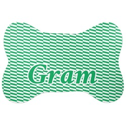 Zig Zag Bone Shaped Dog Food Mat (Personalized)
