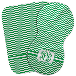 Zig Zag Burp Cloth (Personalized)