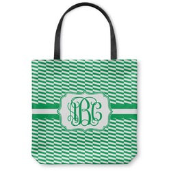 Zig Zag Canvas Tote Bag (Personalized)