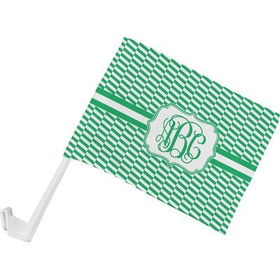 Zig Zag Car Flag (Personalized)