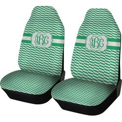 Zig Zag Car Seat Covers (Set of Two) (Personalized)