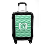 Zig Zag Carry On Hard Shell Suitcase (Personalized)