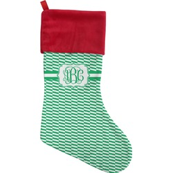 Zig Zag Christmas Stocking (Personalized)