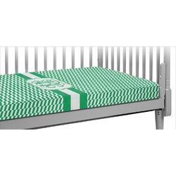 Zig Zag Crib Fitted Sheet (Personalized)