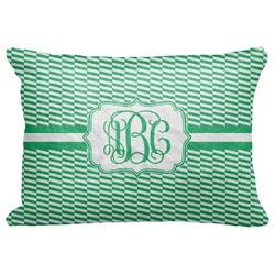 """Zig Zag Decorative Baby Pillowcase - 16""""x12"""" (Personalized)"""