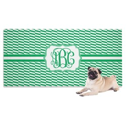 Zig Zag Pet Towel (Personalized)