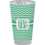 Zig Zag Drinking / Pint Glass (Personalized)