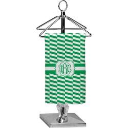 Zig Zag Finger Tip Towel - Full Print (Personalized)