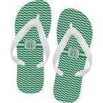 Zig Zag Flip Flops (Personalized)