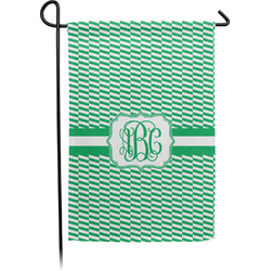 Zig Zag Garden Flag - Single or Double Sided (Personalized)