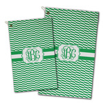 Zig Zag Golf Towel - Full Print w/ Monogram