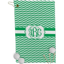 Zig Zag Golf Towel - Full Print (Personalized)