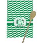 Zig Zag Kitchen Towel - Full Print (Personalized)
