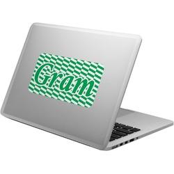 Zig Zag Laptop Decal (Personalized)