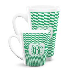 Zig Zag Latte Mug (Personalized)
