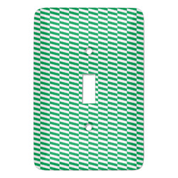 Zig Zag Light Switch Covers (Personalized)