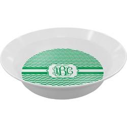 Zig Zag Melamine Bowl (Personalized)
